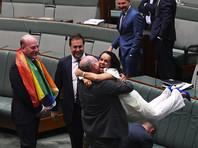 Австралийский парламент легализовал однополые браки, первые свадьбы станут возможны уже в начале 2018 года