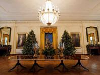 Белый дом открыт для всех желающих, которые могут посетить его с экскурсией. В минувший понедельник миру показали, как семья президента Донольда Трампа украсила резиденцию к Рождеству