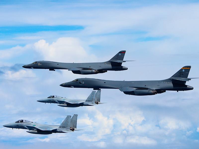 Стратегические бомбардировщики США прибудут на Корейский полуостров