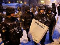В Киеве силовики попытались схватить Саакашвили в палаточном лагере, избив его сторонников (ВИДЕО)