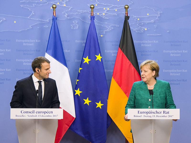 Меркель и Макрон призвали Россию вернуть военных в СЦКК в Донбассе