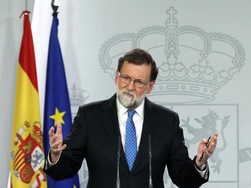 Премьер-министр Испании Мариано Рахой отверг предложение экс-главы Каталонии Карлеса Пучдемона провести переговоры за пределами Испании
