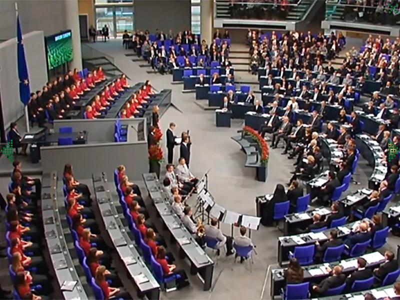 Выступление школьника в Бундестаге слушали российские губернаторы и мэры, утверждает DW