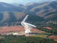 Прослушивать Оумуамуа будет радиотелескоп американской обсерватории Greenbank с диаметром зеркала 100 метров