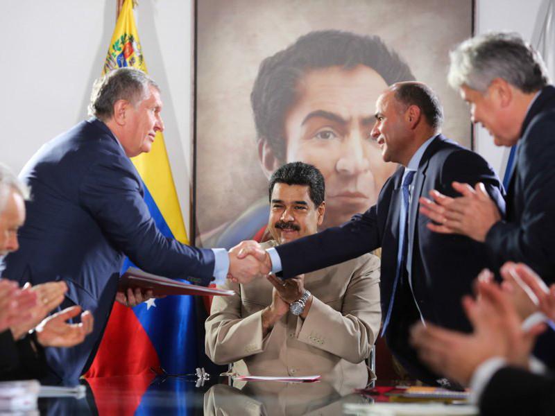 """Венесуэла выдала """"Роснефти"""" лицензию на добычу газа на шельфе"""