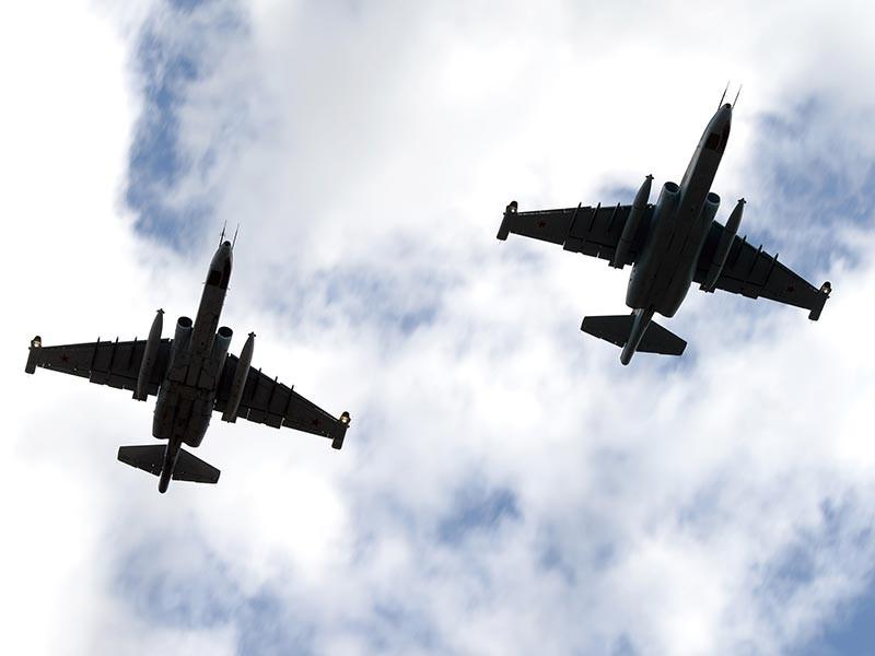 Американские истребители в небе над Сирией перехватили два штурмовика ВКС РФ