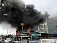 На Филиппинах в городе Давао произошел крупный пожар в торговом центре: власти опасаются, что число погибших может достичь 37 человек