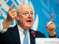 Специальный представитель Генерального секретаря ООН по Сирии Стаффан де Мистура заявил, что планы России по созыву сочинского конгресса должны оцениваться, исходя из того, как это отразится на женевских переговорах о прекращении гражданской войны в Сирии