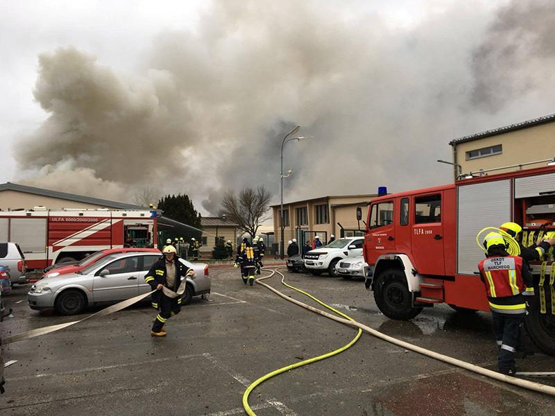 В Австрии прогремел взрыв на станции, распределяющая природный газ из России по всей Европе