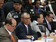 Хорхе Глас во время судебного процесса