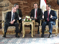 Об этом российский лидер сказал по итогам переговоров со своим египетским коллегой Абделем Фаттахом ас-Сиси