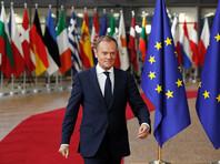 В ходе саммите ЕС в Брюсселе лидеры стран Евросоюза решили продлить экономические санкции в отношении России. Об этом председатель Европейского совета Дональд Туск написал в своем Twitter