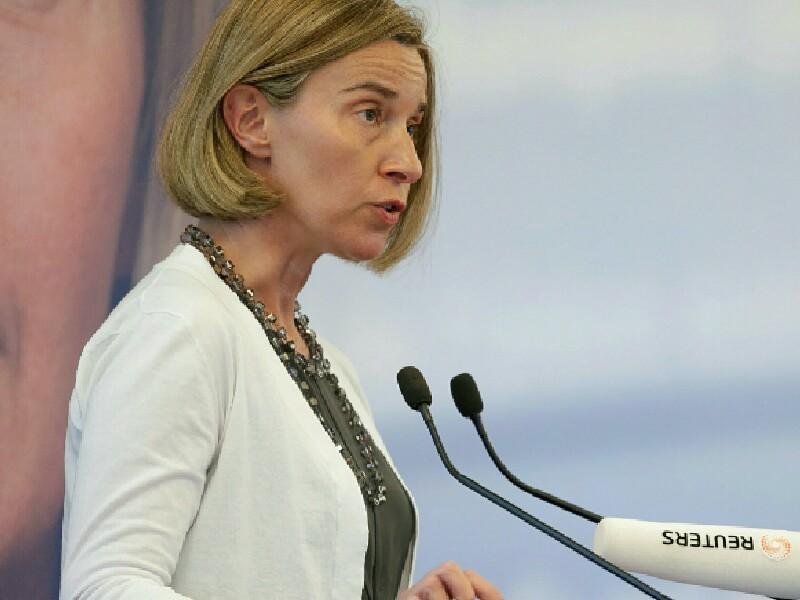 Верховный представитель ЕС по внешней политике и политике безопасности Федерика Могерини