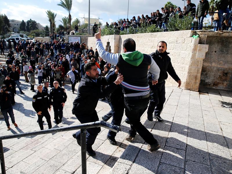 Иерусалим, 7 декабря 2017 года
