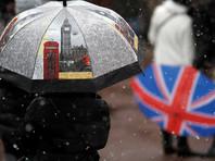 Рекордные снегопады парализовали Великобританию