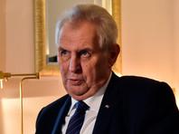 Президент Чехии не исключил, что вслед за США перенесет в Иерусалим посольство страны, и призвал к этому все страны Евросоюза