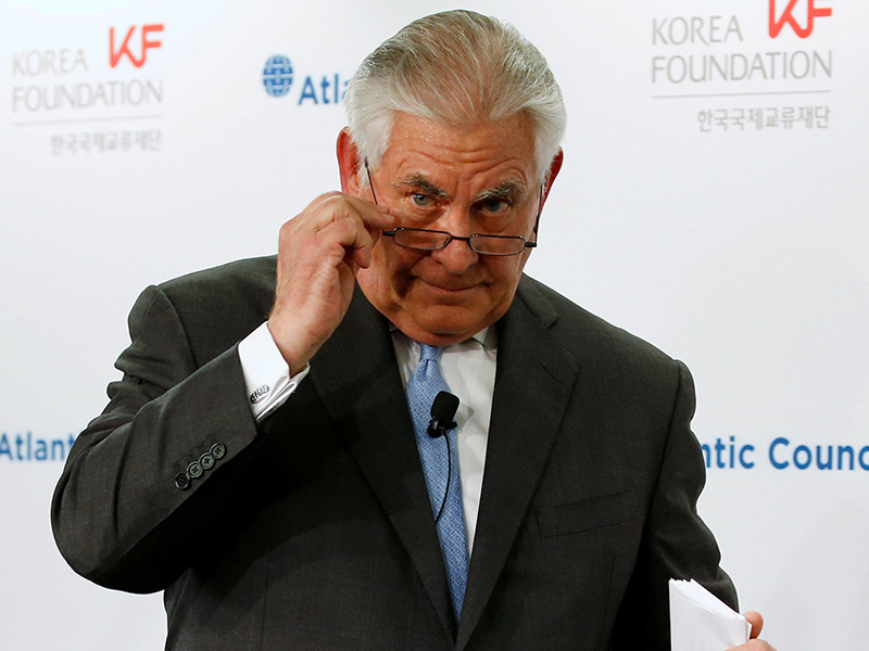 Госсекретарь США оценил состояние отношений с  РФ и назвал условие отмены санкций