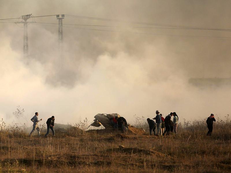 Одна из запущенных из сектора Газа ракет попала в детский сад в Израиле