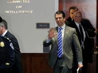 """Сын Трампа в третий раз дал показания в сенате по """"российскому делу"""""""
