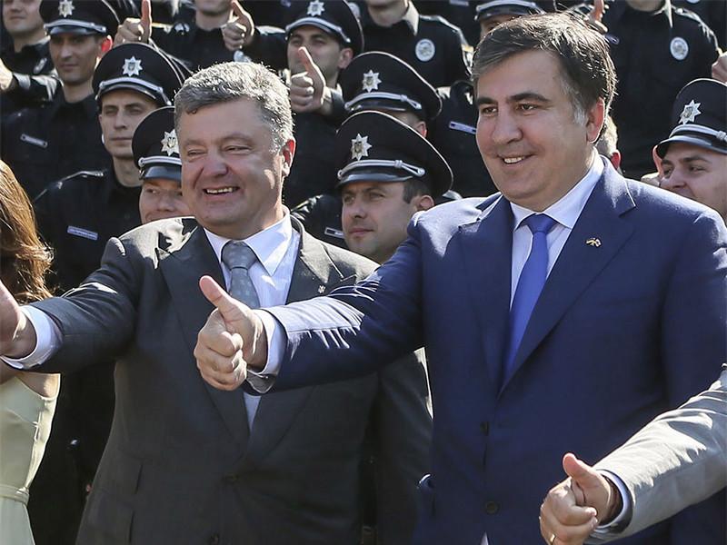 СМИ узнали о письме Саакашвили к Порошенко с предложением мира