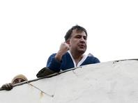 Саакашвили после сидения на крыше потерял голос, но обещает прийти на марш за импичмент Порошенко