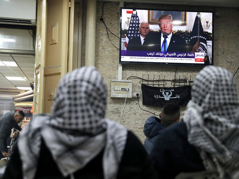 Президент США Дональд Трамп, как и ожидалось, объявил о своем решении официально признать Иерусалим столицей Израиля и перенести в город американское посольство из Тель-Авива