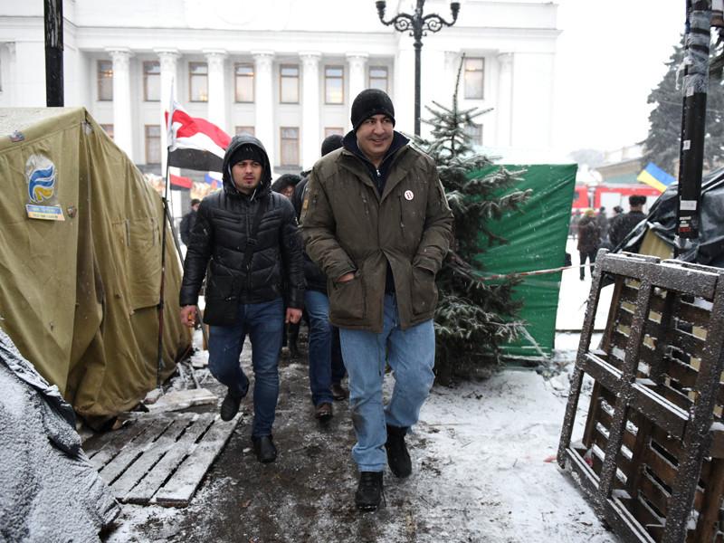 Михаил Саакашвили, 6 декабря 2017 года