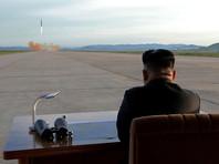 Пассажиры авиалайнеров видели в небе запущенную КНДР баллистическую ракету