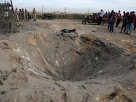 """Израиль нанес удар по военному лагерю """"Хамаса"""" в секторе Газа в ответ на обстрел своей территории"""