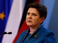 Премьер Польши Беата Шидло подала в отставку
