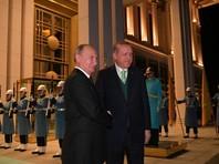 Путин после визита в Сирию и Египет прибыл в Турцию для переговоров с Эрдоганом