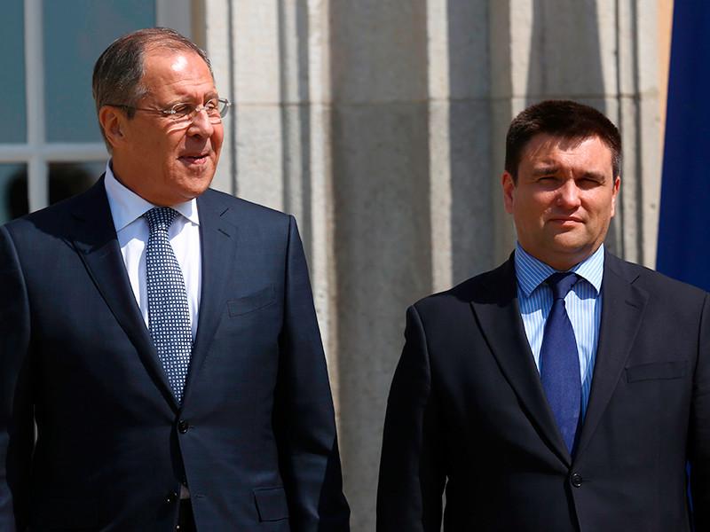 Сергей Лавров и Павел Климкин, 11 мая 2016 года