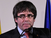 Пучдемон просит власти Испании пустить его в Барселону возглавить правительство Каталонии