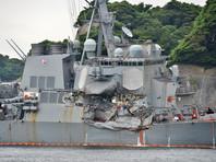 Командиров двух эсминцев ВМС США обвинили в непреднамеренном убийстве
