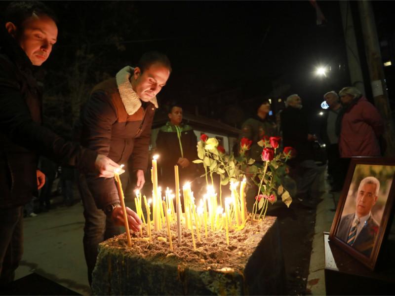 Убийство лидера сербов Ивановича могли заснять камеры на здании штаба партии