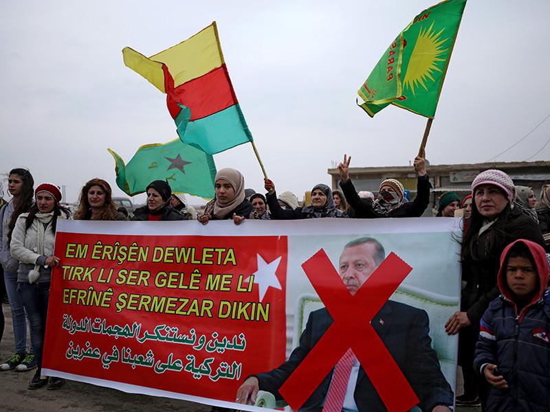 Курды отчитались о жертвах турецких бомбардировок. Две трети убитых - мирные жители