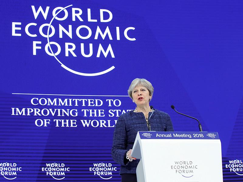 Премьер-министр Великобритании Тереза Мэй, выступая на Всемирном экономическом форуме в швейцарском Давосе, призвала членов Всемирной торговой организации (ВТО) к реформированию организации