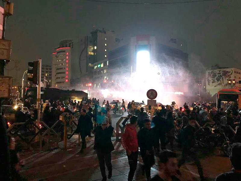 Тегеран, 31 декабря 2017 года