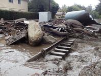 Число жертв оползней в Калифорнии достигло 17, еще 13 человек пропали без вести
