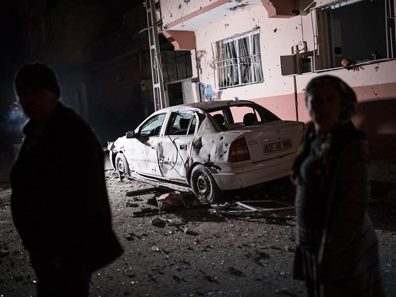 Турецкий город Килис обстреляли ракетами с территории Сирии