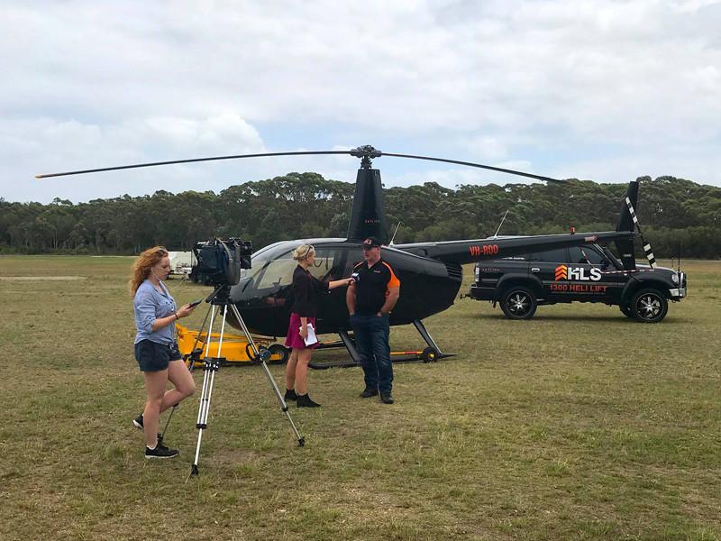 Пилот вертолета Ли Митчелл, обнаруживший машину пропавшего подростка