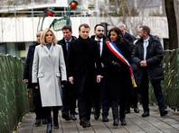 Макрон возглавил церемонию в память о жертвах январских терактов в Париже