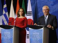 Глава Госдепа США Рекс Тиллерсон заявил, что КНДР пока нельзя доверять. Коллега из Канады Христя Фриланд объявила, что страны хотят решить кризис с помощью дипломатии