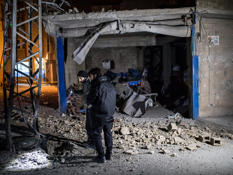Три ракеты были выпущены в субботу с территории Сирии по приграничной турецкой провинции Килис
