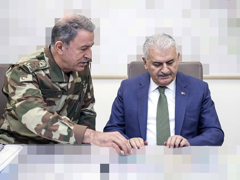 Турция проводит операцию в сирийском Африне с целью создания зоны безопасности на границе, заявил премьер-министр Турции Бинали Йылдырым