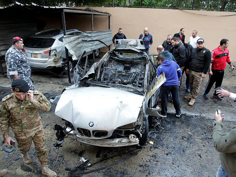 "В Ливане взорван автомобиль представителя ""Хамаса"", ранен брат главы организации"