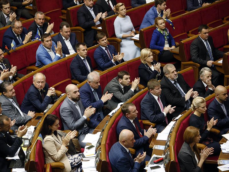 Верховная Рада Украины в втором и окончательном чтении приняла президентский законопроект о реинтеграции Донбасса