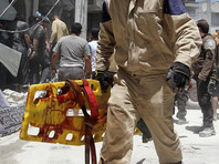 По словам местных жителей, нападение произошло в разгар торгового дня, когда на рынке было много людей