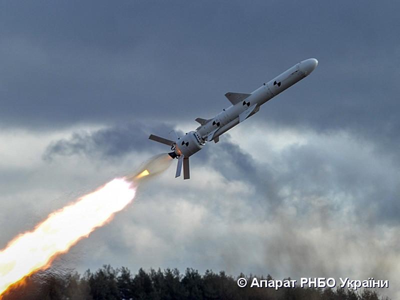 Украина впервые испытала собственную крылатую ракету