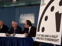 """Стрелки """"часов Судного дня"""" переведены на 30 секунд ближе из-за противостояния США с КНДР и Россией"""